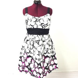 2XL TABOO Floral Fit & Flare Sundress Party Dress
